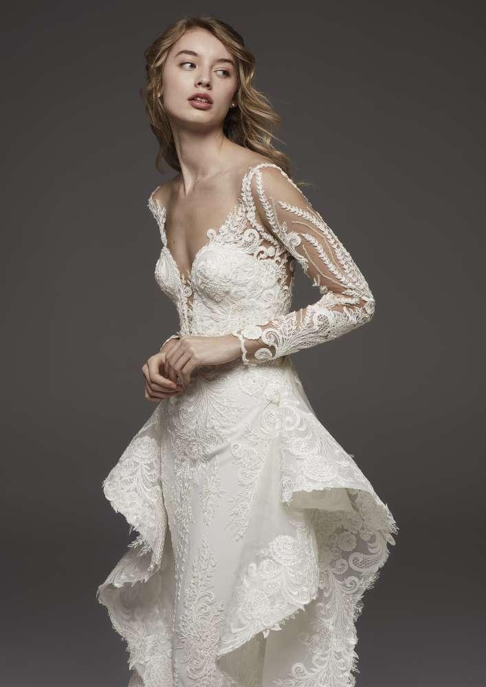 Atelier Pronovias * Svadobné šaty z kolekcií na rok 2019 - Obrázok č. 54
