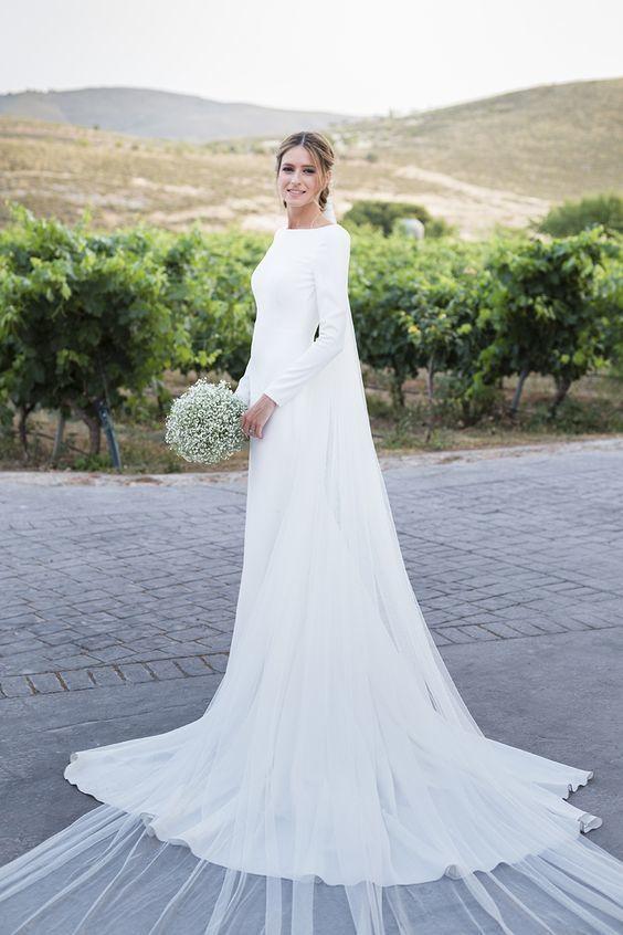 Tak jednoducho, ako sa len dá (minimalizmus v svadobných šatách) - Obrázok č. 77