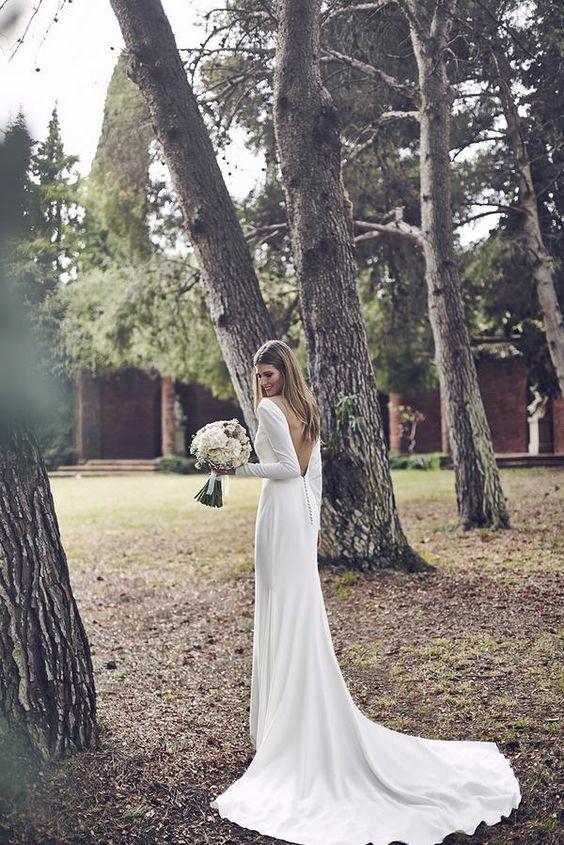Tak jednoducho, ako sa len dá (minimalizmus v svadobných šatách) - Obrázok č. 78