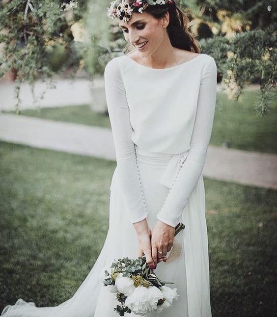 Tak jednoducho, ako sa len dá (minimalizmus v svadobných šatách) - Obrázok č. 80