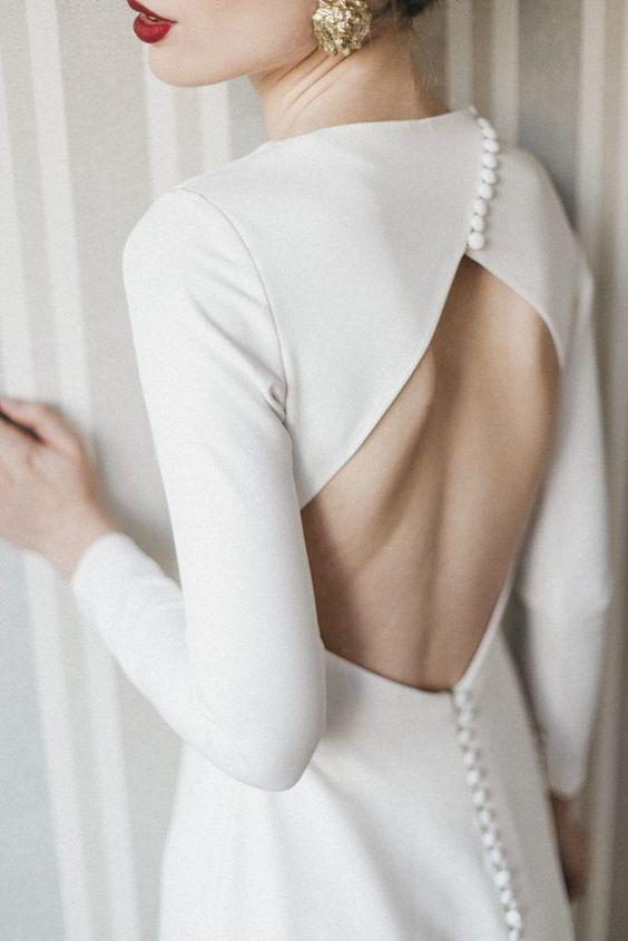 Tak jednoducho, ako sa len dá (minimalizmus v svadobných šatách) - Obrázok č. 81