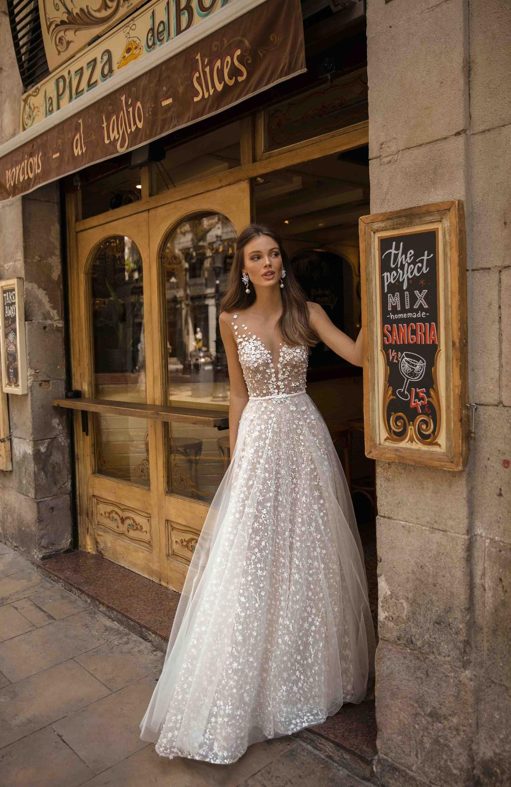 Muse by Berta * Svadobné šaty z kolekcií na rok 2019 - Obrázok č. 16