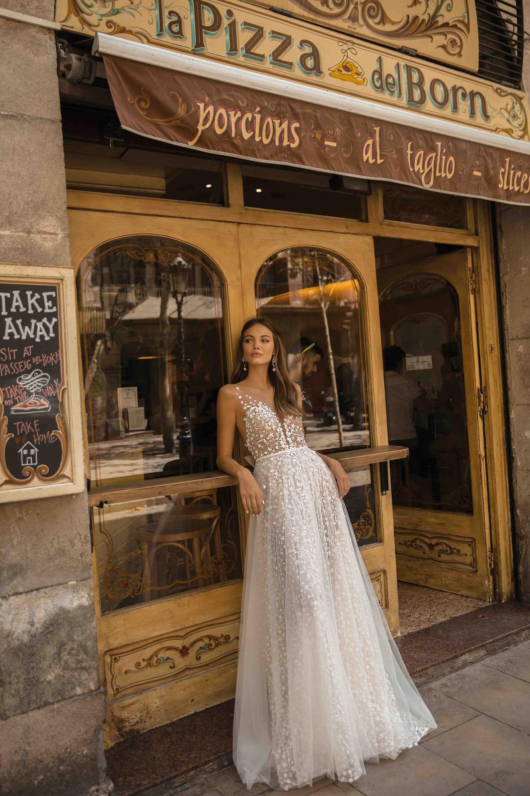Muse by Berta * Svadobné šaty z kolekcií na rok 2019 - Obrázok č. 17