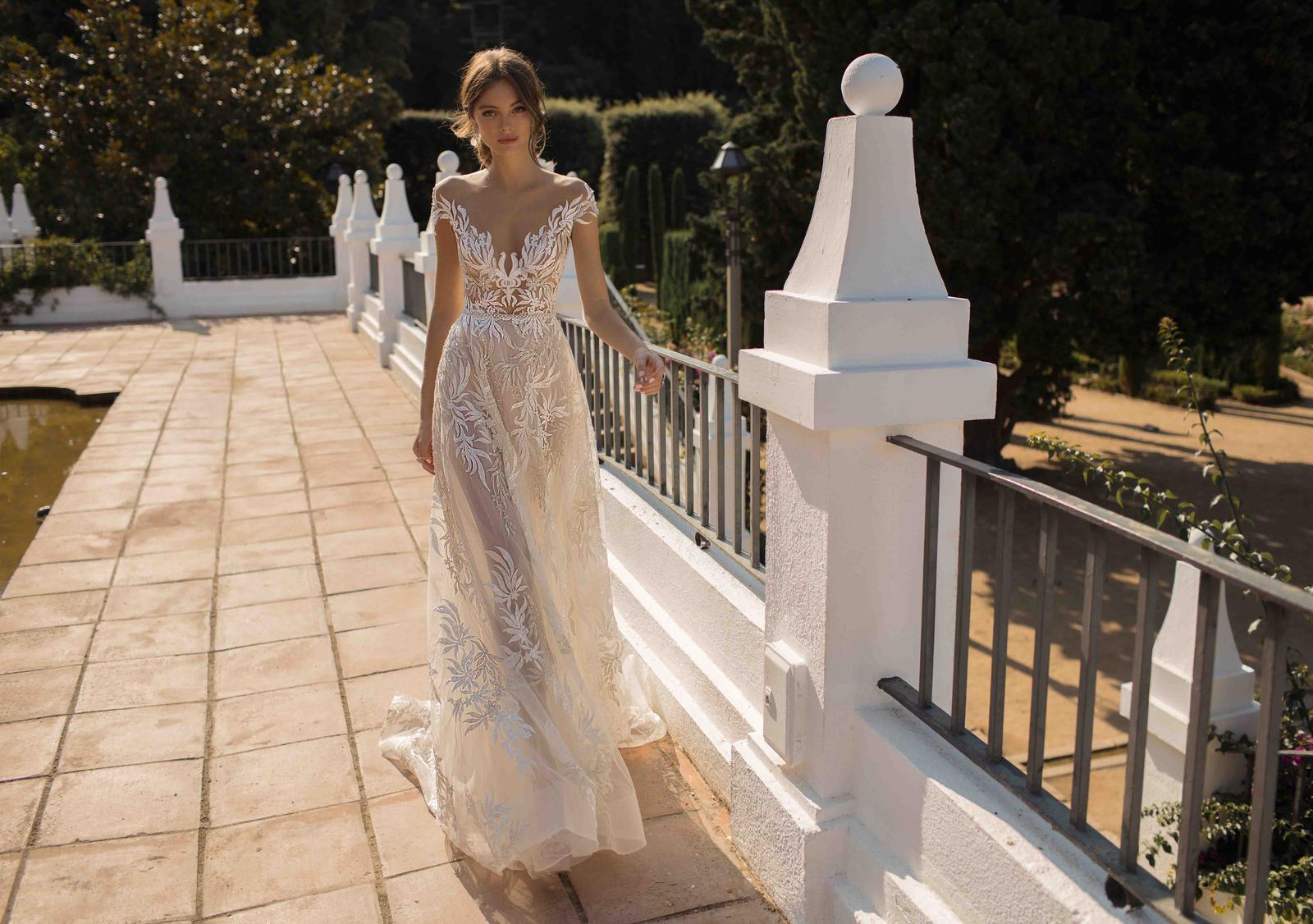 Muse by Berta * Svadobné šaty z kolekcií na rok 2019 - Obrázok č. 20