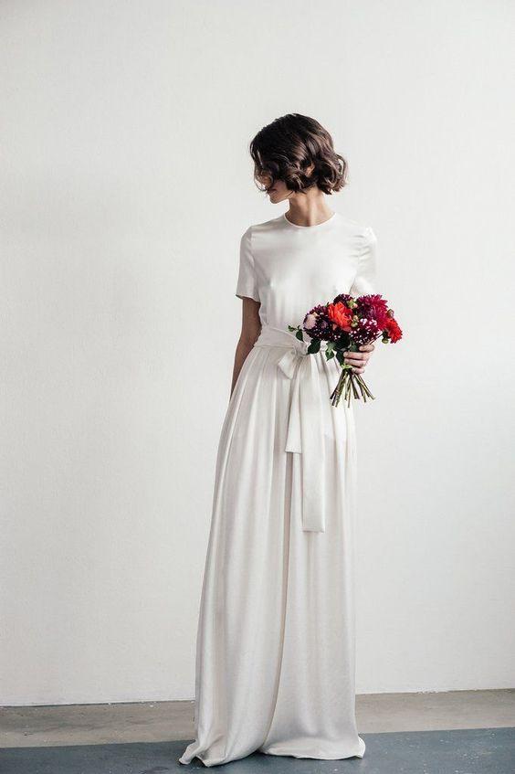 Tak jednoducho, ako sa len dá (minimalizmus v svadobných šatách) - Obrázok č. 82
