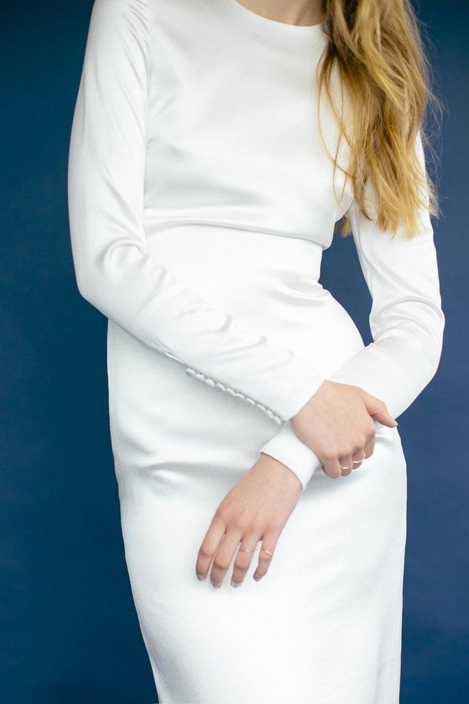 Tak jednoducho, ako sa len dá (minimalizmus v svadobných šatách) - Obrázok č. 87