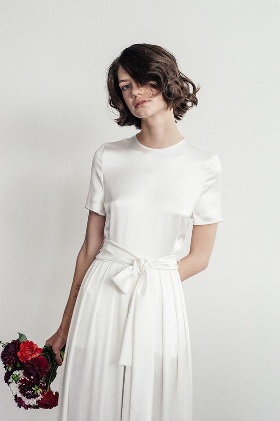 Tak jednoducho, ako sa len dá (minimalizmus v svadobných šatách) - Obrázok č. 83
