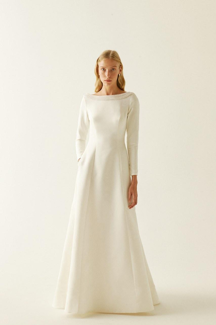Tak jednoducho, ako sa len dá (minimalizmus v svadobných šatách) - Obrázok č. 90