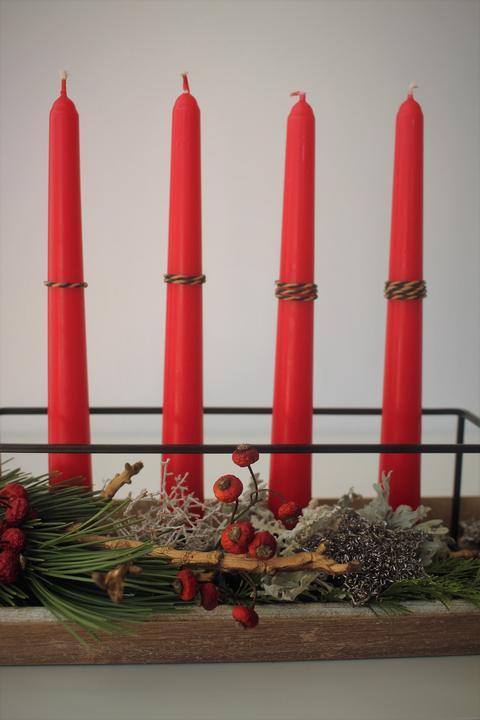 Adventné vence a svietniky od ľudí z Modrej strechy - @jabor