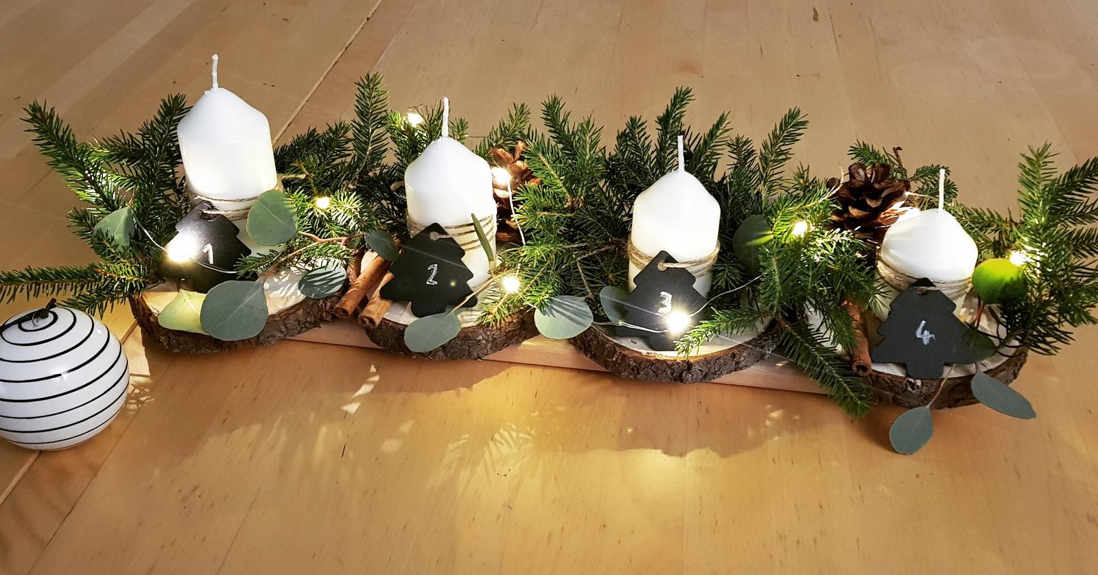 Adventné vence a svietniky od ľudí z Modrej strechy - @luciac