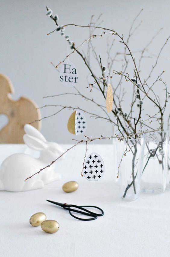 Jar a Veľká noc v duchu Škandinávie a minimalizmu - Obrázok č. 106