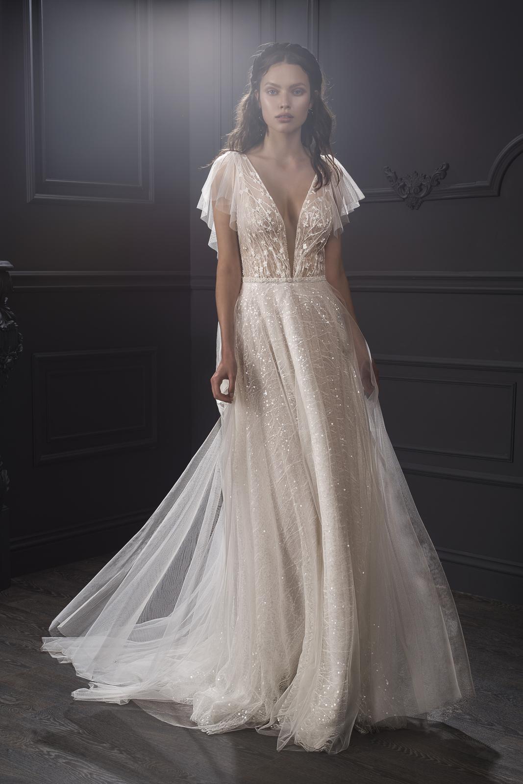 Svadobné šaty z kolekcií na rok 2019 - Obrázok č. 232