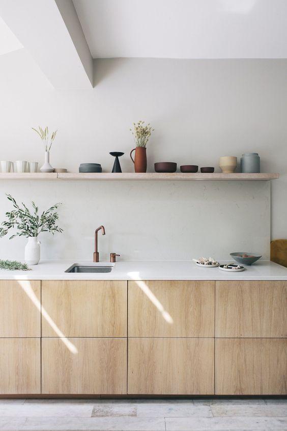 Kuchyne s otvorenými poličkami - Obrázok č. 99