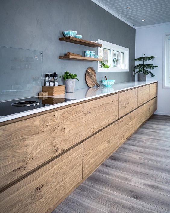 Kuchyne s otvorenými poličkami - Obrázok č. 100