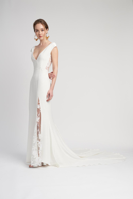 Svadobné šaty z kolekcií na rok 2020 - Obrázok č. 3