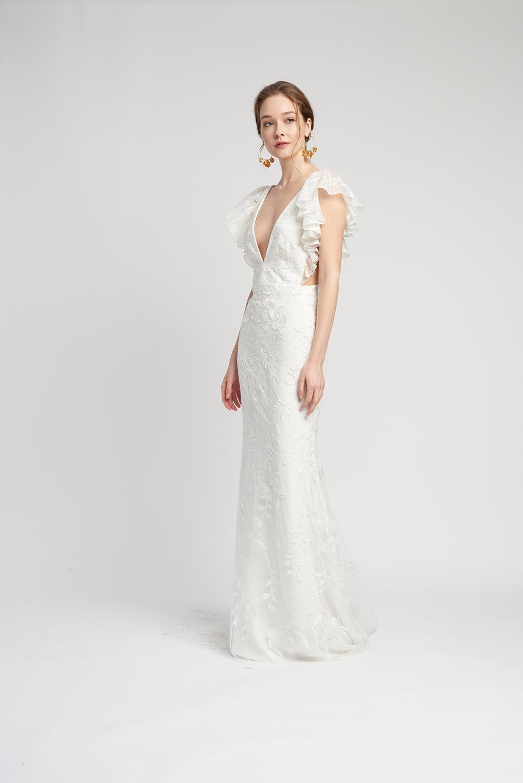 Svadobné šaty z kolekcií na rok 2020 - Obrázok č. 8