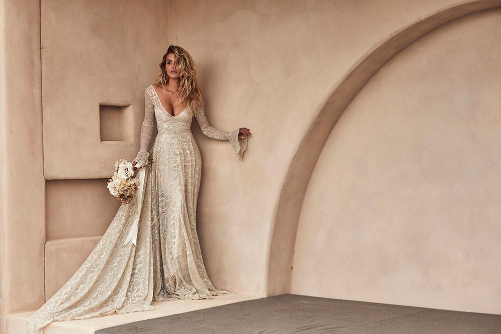 Svadobné šaty z kolekcií na rok 2020 - Obrázok č. 16
