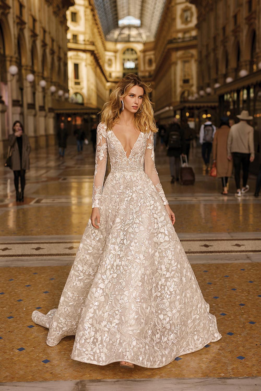 Svadobné šaty z kolekcií na rok 2020 - Obrázok č. 29