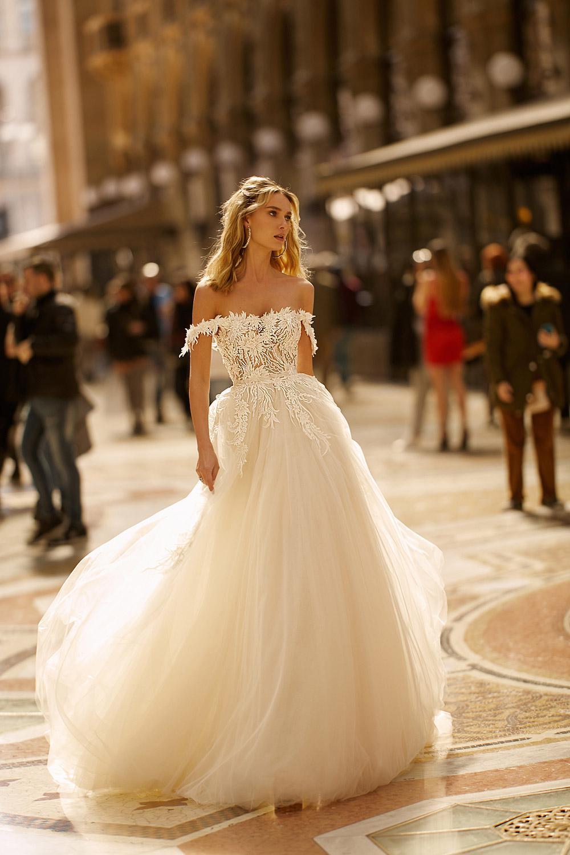 Svadobné šaty z kolekcií na rok 2020 - Obrázok č. 37