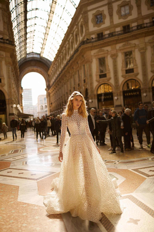 Svadobné šaty z kolekcií na rok 2020 - Obrázok č. 42