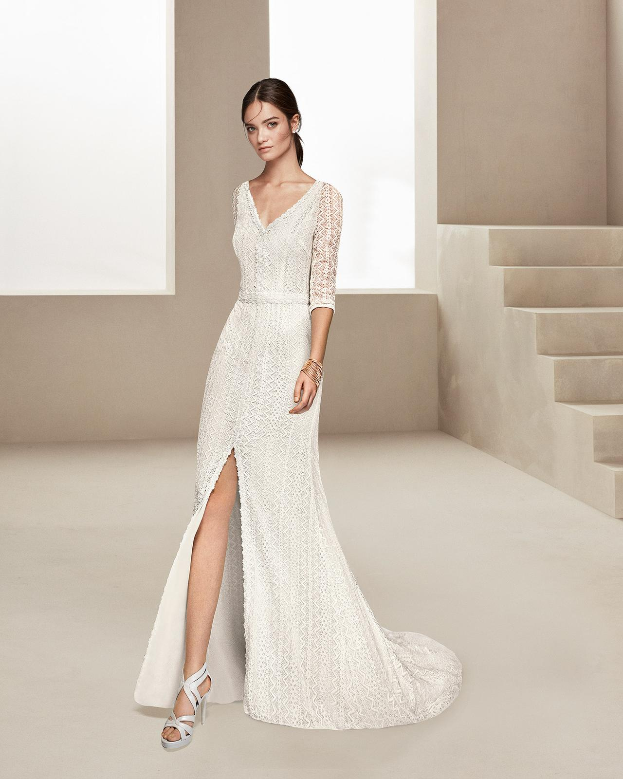 Svadobné šaty z kolekcií na rok 2020 - Obrázok č. 54