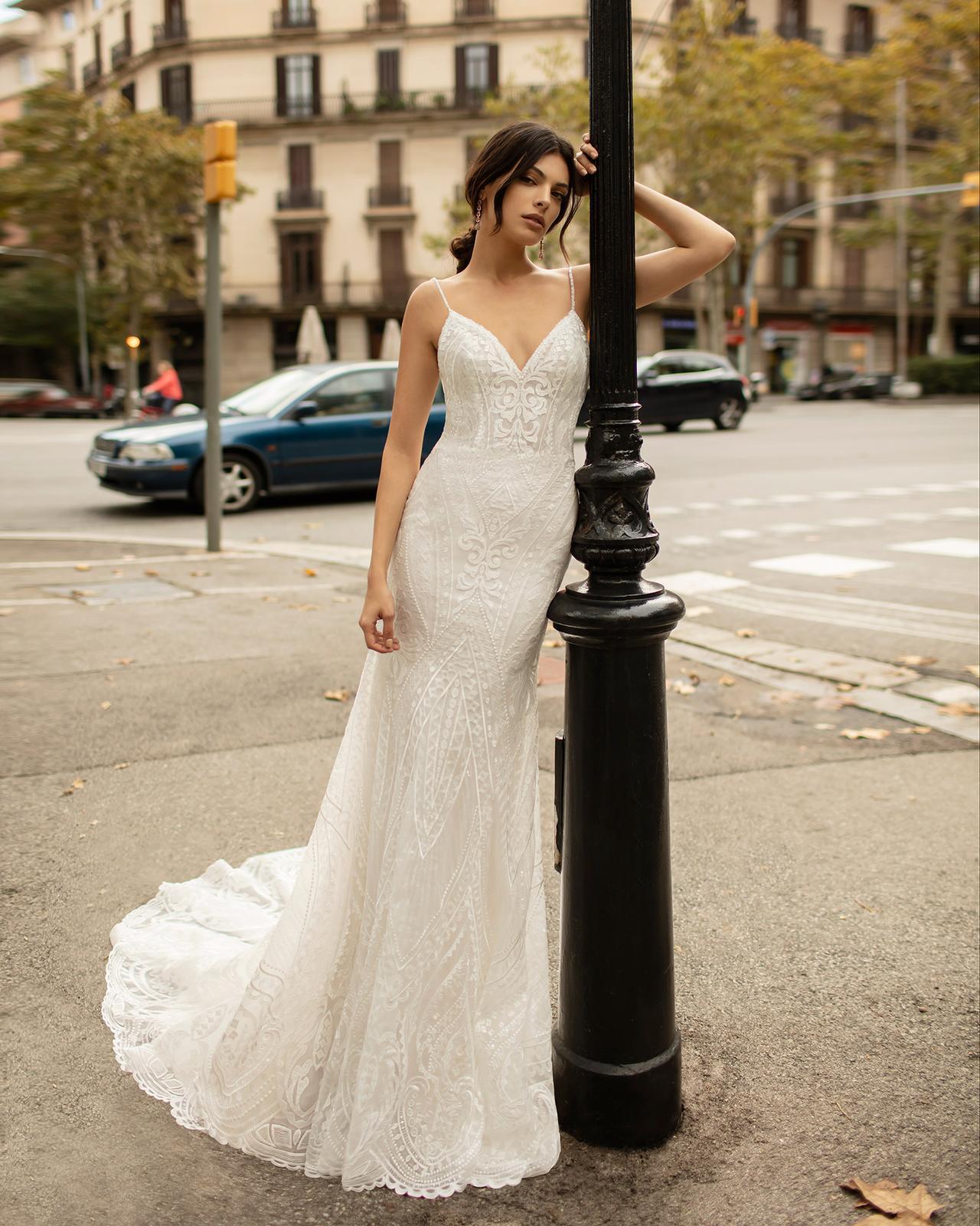 Svadobné šaty z kolekcií na rok 2020 - Obrázok č. 56