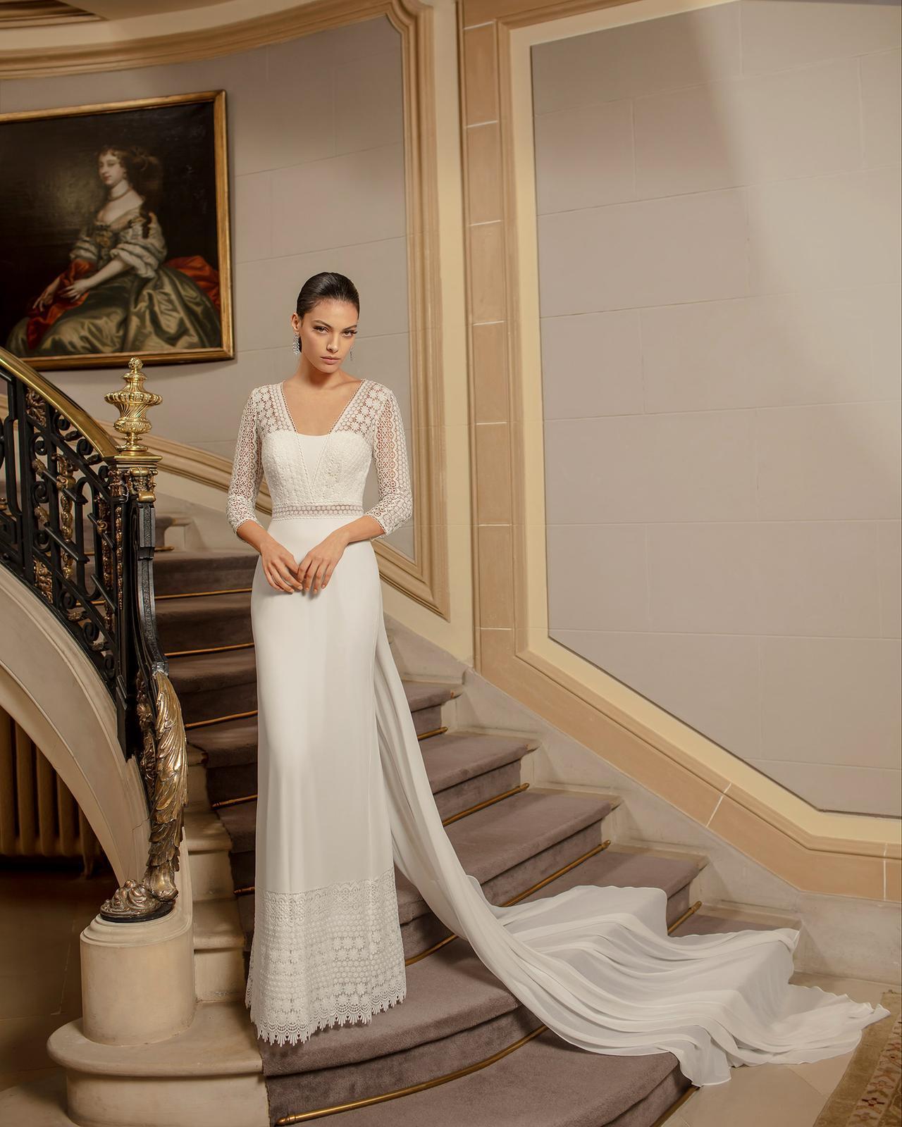 Svadobné šaty z kolekcií na rok 2020 - Obrázok č. 62
