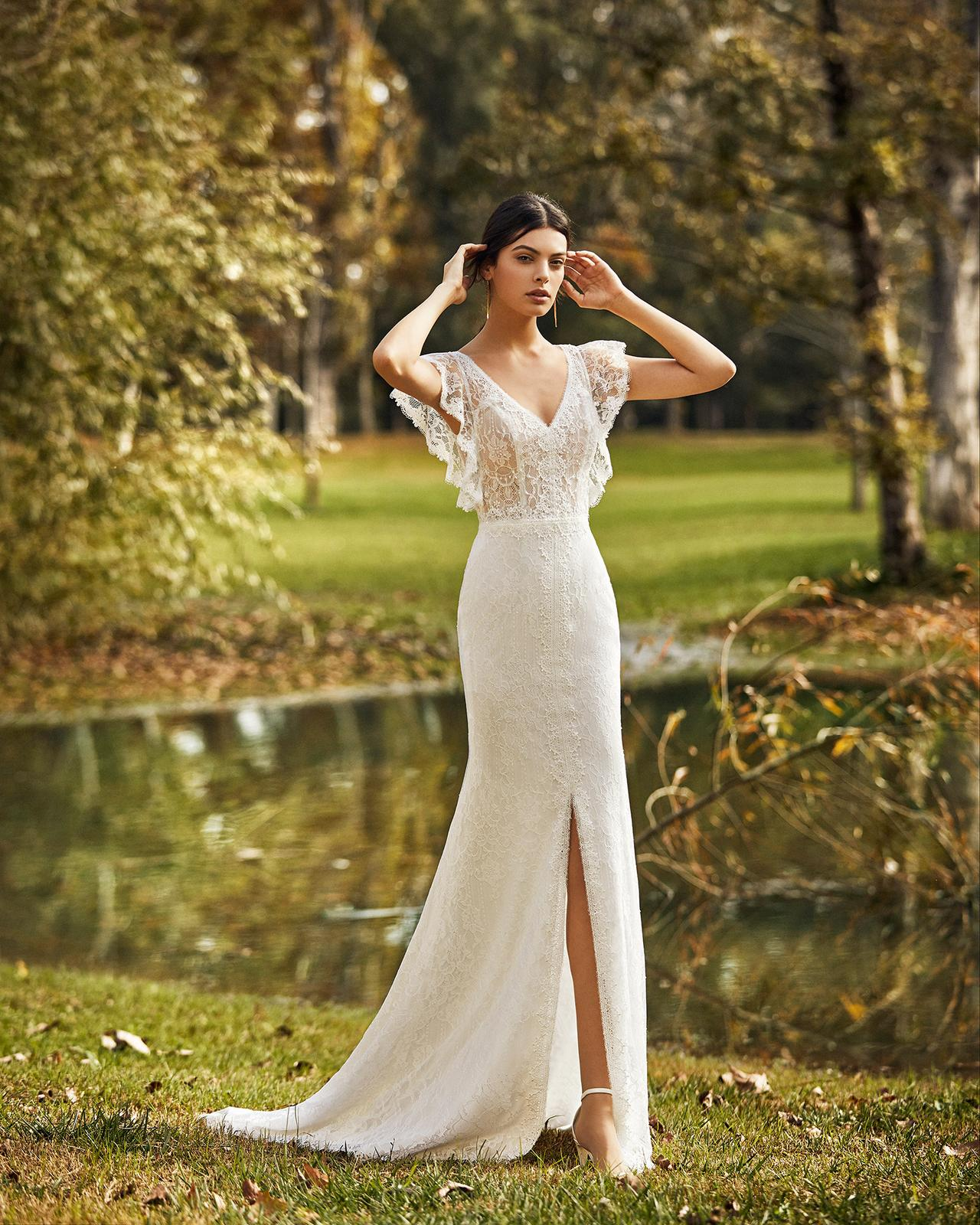 Svadobné šaty z kolekcií na rok 2020 - Obrázok č. 66