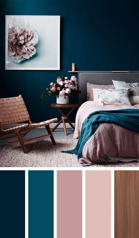 Farebné kombinácie - inšpirácie do interiéru - Obrázok č. 2