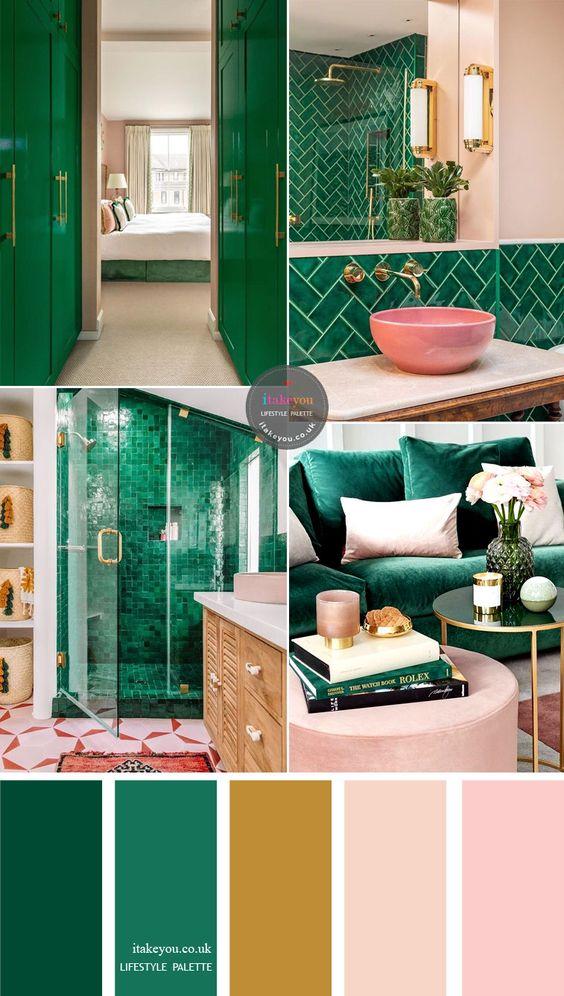 Farebné kombinácie - inšpirácie do interiéru