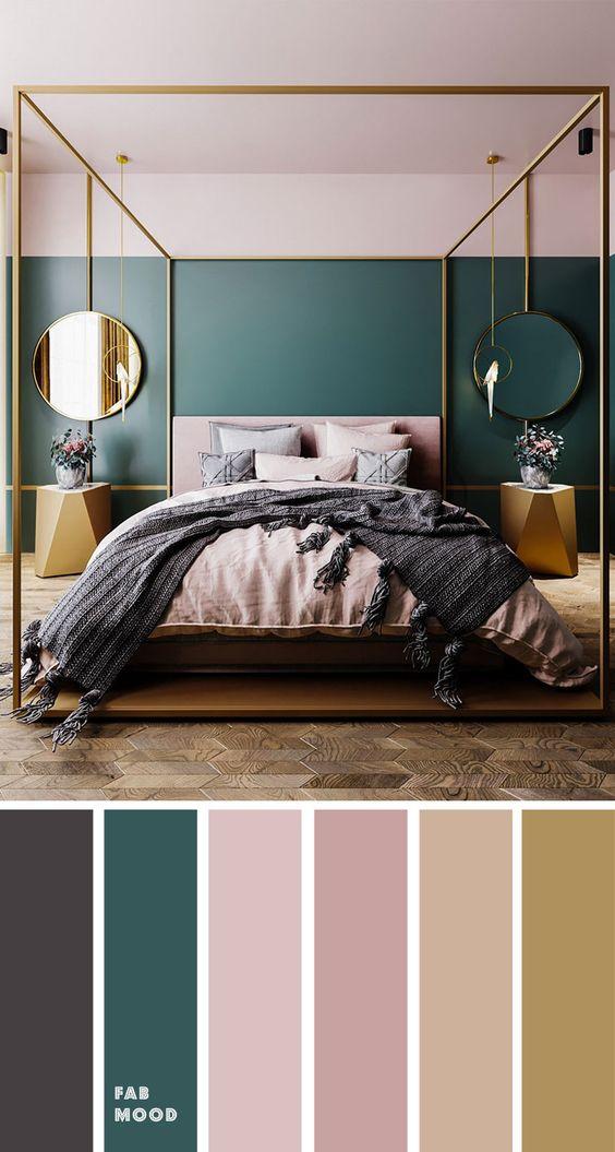 Farebné kombinácie - inšpirácie do interiéru - Obrázok č. 9