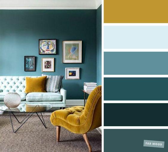 Farebné kombinácie - inšpirácie do interiéru - Obrázok č. 17