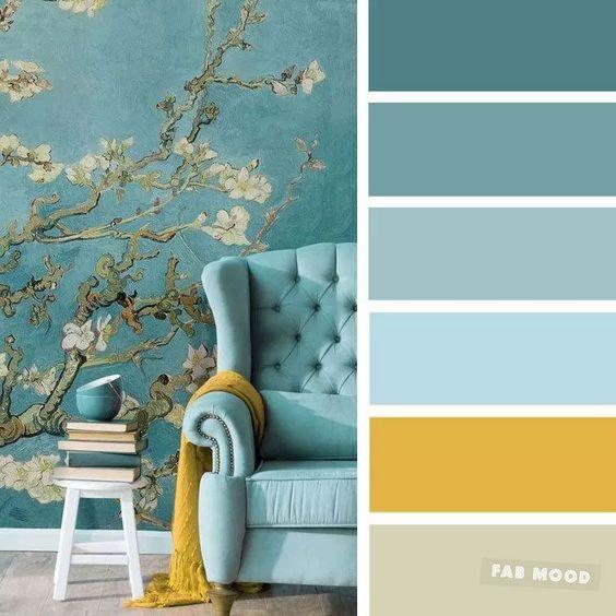Farebné kombinácie - inšpirácie do interiéru - Obrázok č. 21
