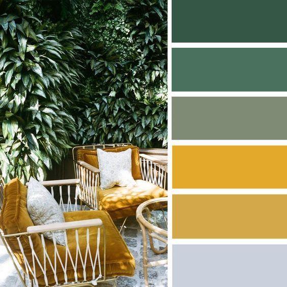 Farebné kombinácie - inšpirácie do interiéru - Obrázok č. 12