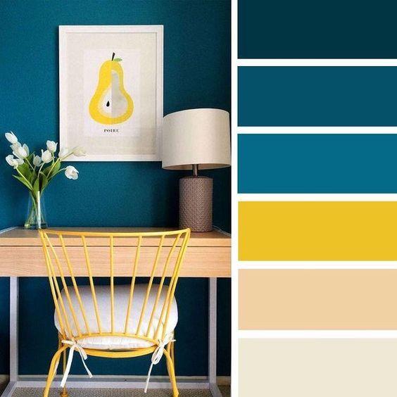 Farebné kombinácie - inšpirácie do interiéru - Obrázok č. 18