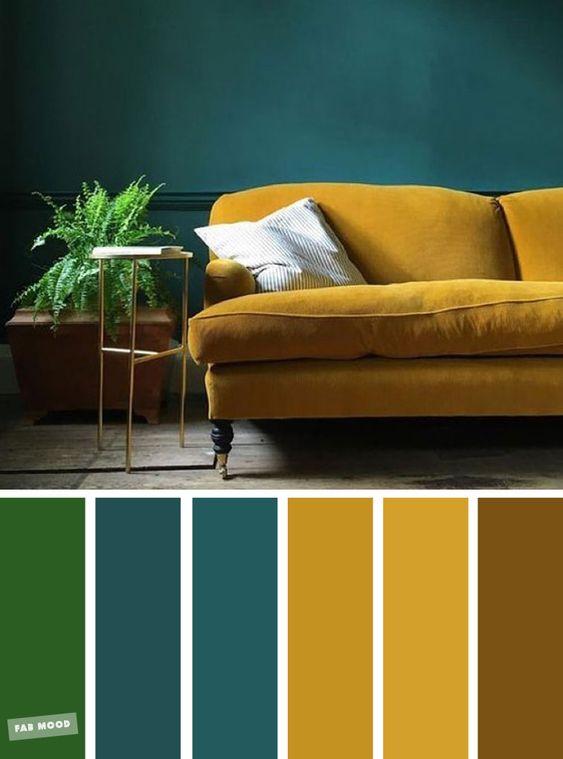 Farebné kombinácie - inšpirácie do interiéru - Obrázok č. 20