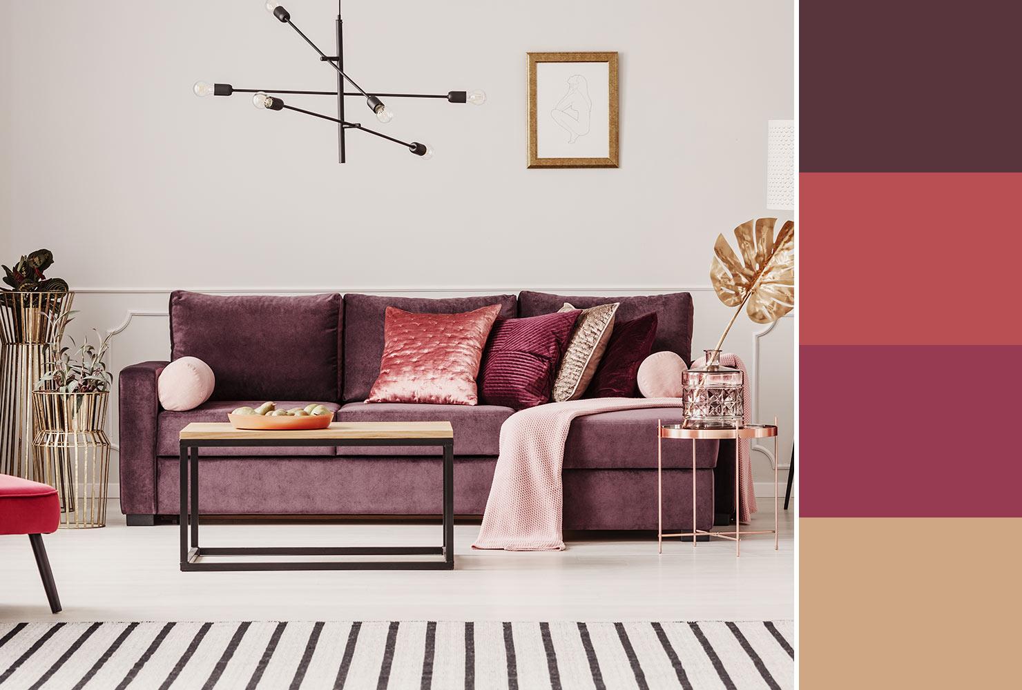 Farebné kombinácie - inšpirácie do interiéru - Obrázok č. 32