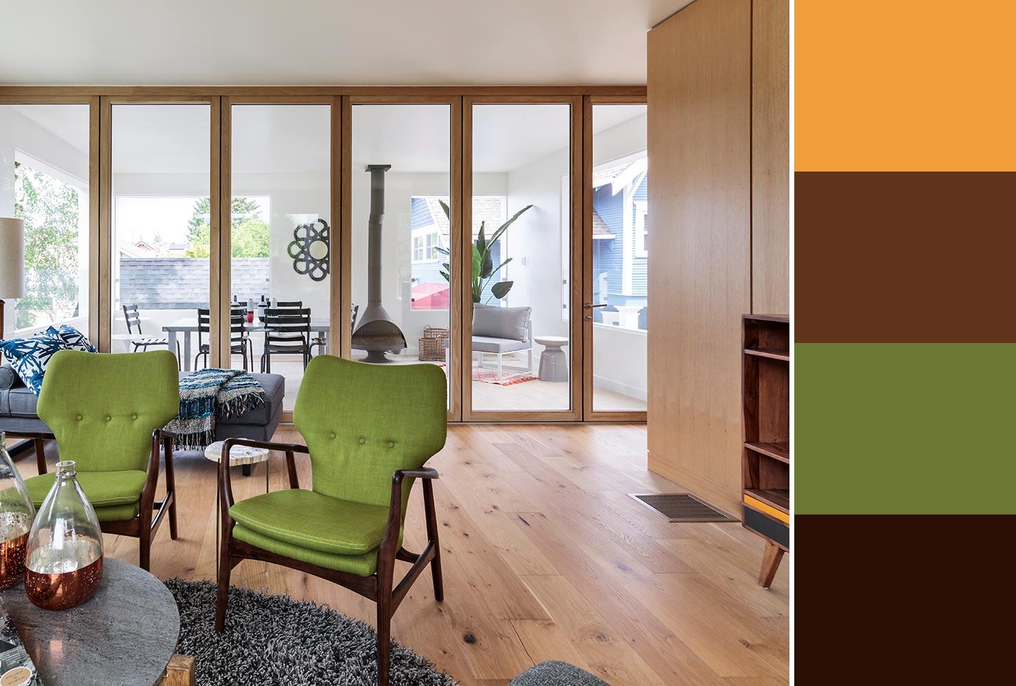 Farebné kombinácie - inšpirácie do interiéru - Obrázok č. 35