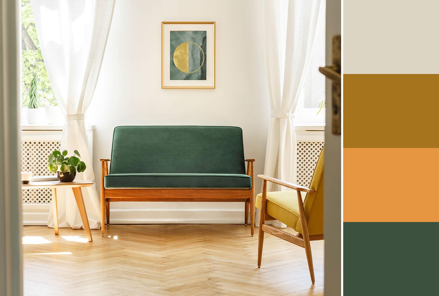 Farebné kombinácie - inšpirácie do interiéru - Obrázok č. 36