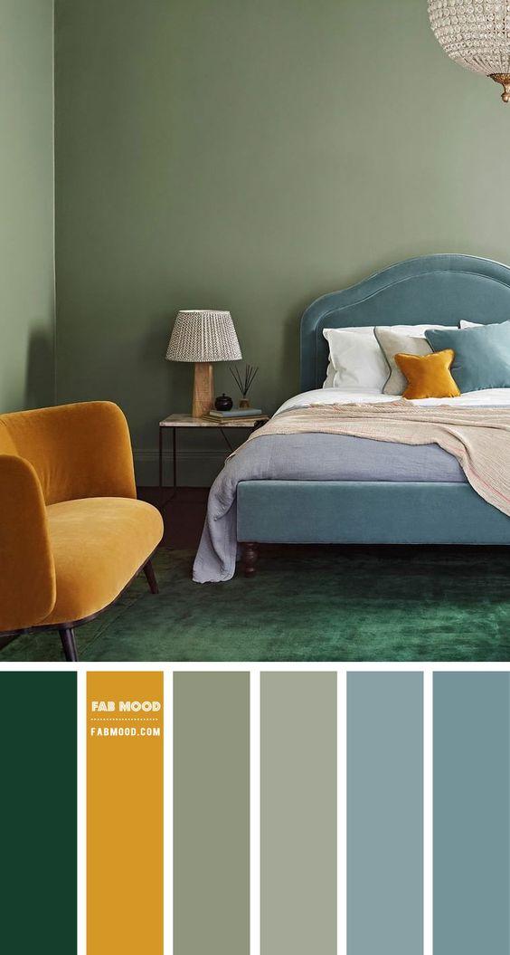 Farebné kombinácie - inšpirácie do interiéru - Obrázok č. 38