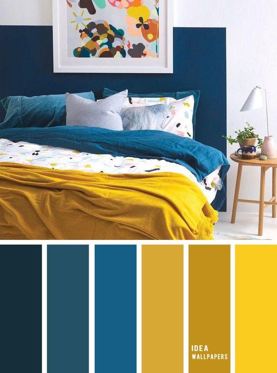 Farebné kombinácie - inšpirácie do interiéru - Obrázok č. 39
