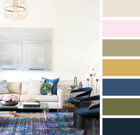 Farebné kombinácie - inšpirácie do interiéru - Obrázok č. 43