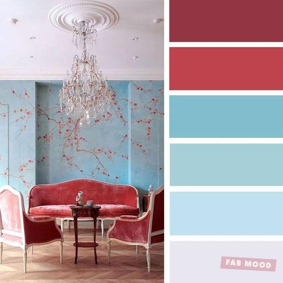 Farebné kombinácie - inšpirácie do interiéru - Obrázok č. 48