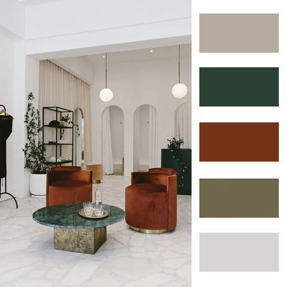 Farebné kombinácie - inšpirácie do interiéru - Obrázok č. 53
