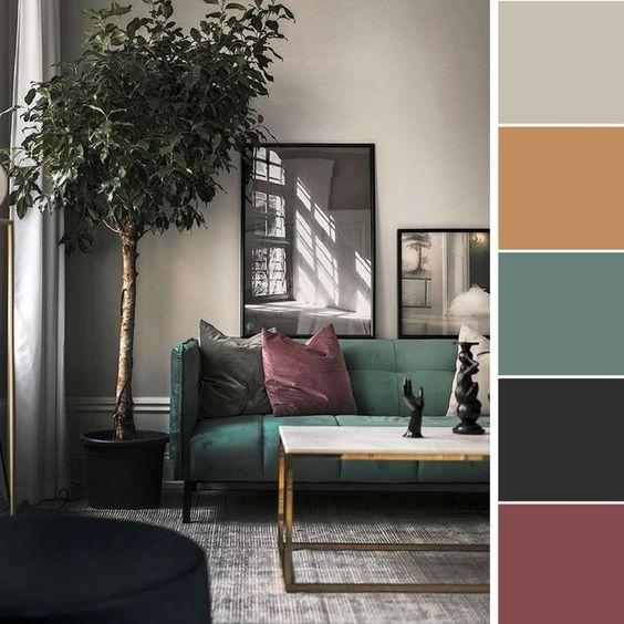 Farebné kombinácie - inšpirácie do interiéru - Obrázok č. 49