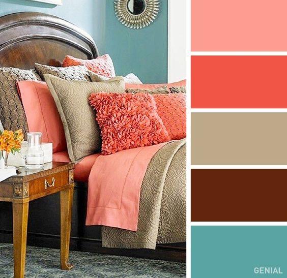 Farebné kombinácie - inšpirácie do interiéru - Obrázok č. 54