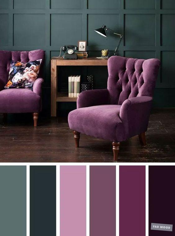 Farebné kombinácie - inšpirácie do interiéru - Obrázok č. 42