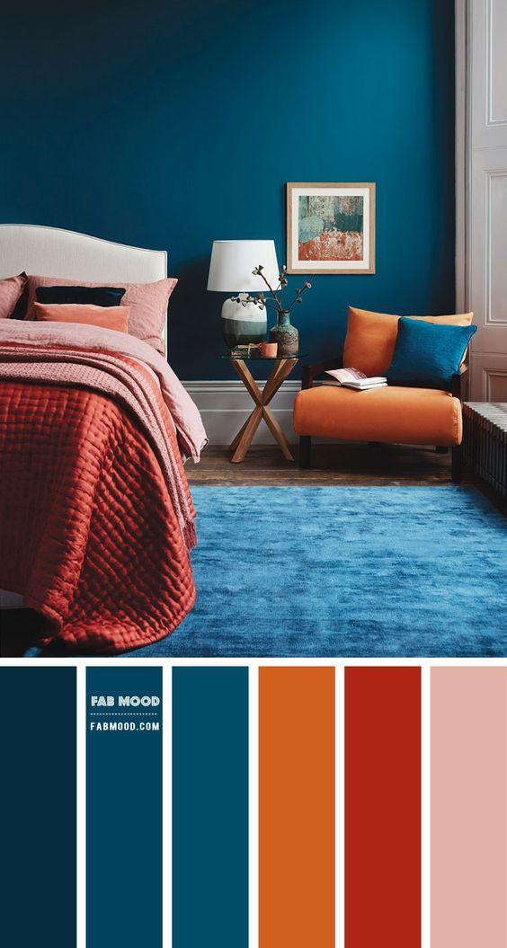 Farebné kombinácie - inšpirácie do interiéru - Obrázok č. 37