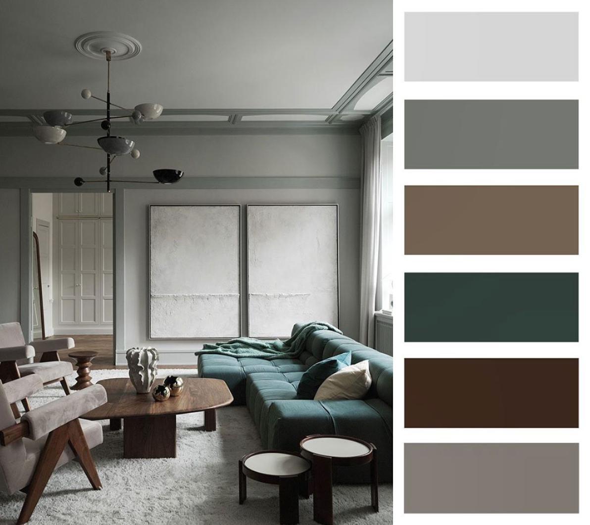 Farebné kombinácie - inšpirácie do interiéru - Obrázok č. 72