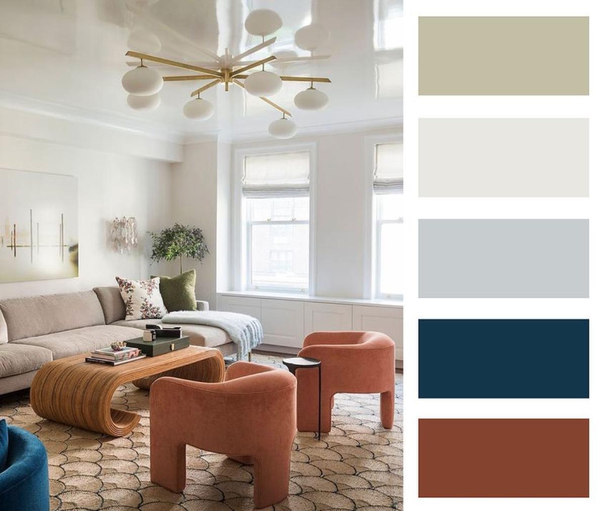 Farebné kombinácie - inšpirácie do interiéru - Obrázok č. 75